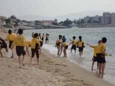 公益少年團 - 清潔沙灘
